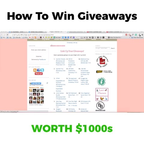 How To Win Giveaways Meme