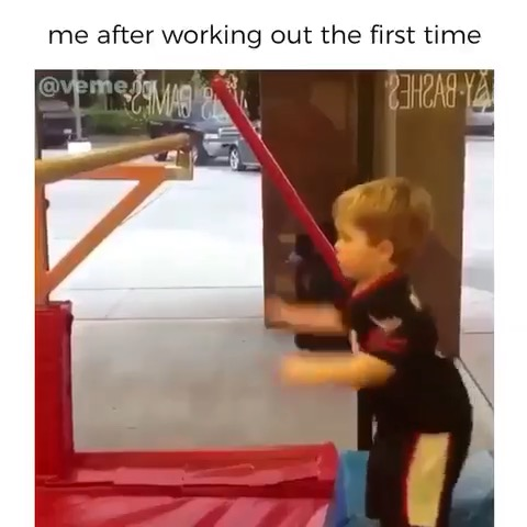 Working Out Meme Made By Veme.ly