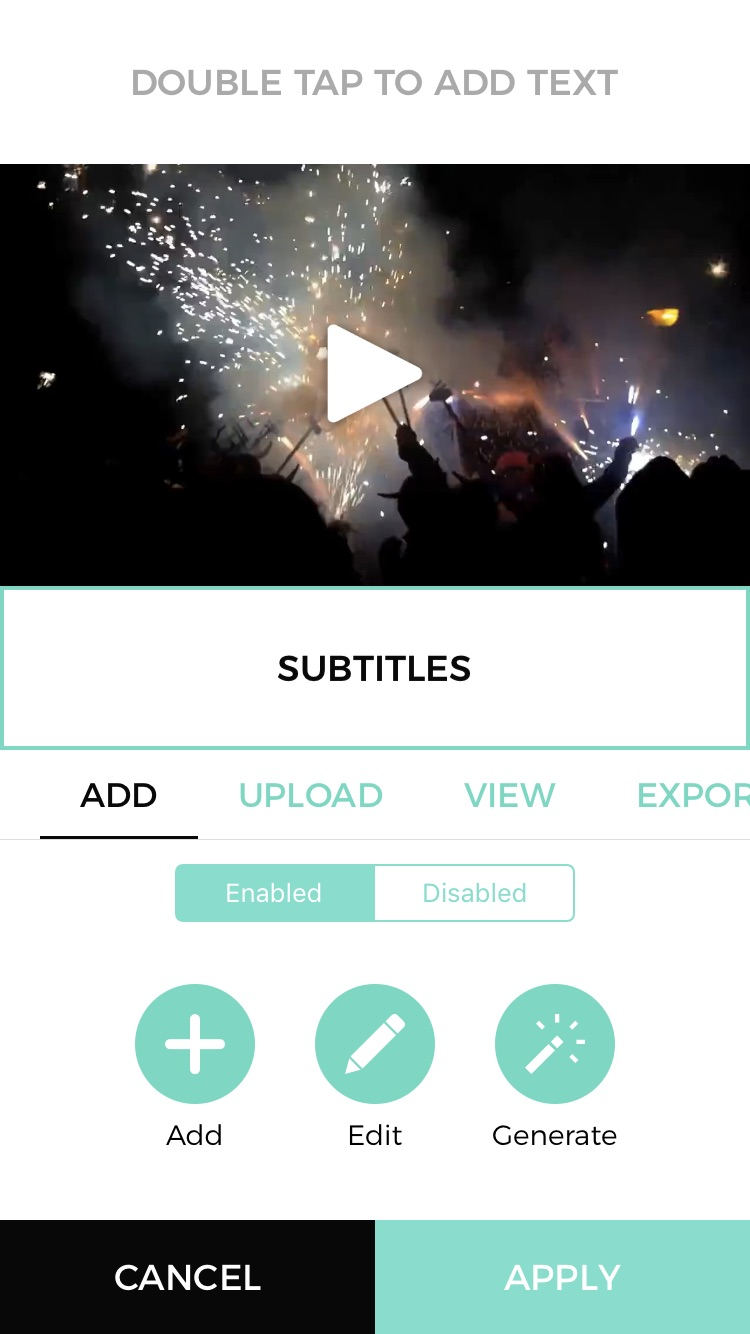 How to Add Subtitles to Your Videos on iPhone Using Veme ly App